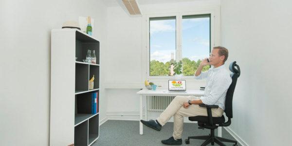 kontorsrum small storlek Bromma hos Kontorshotellsgruppen